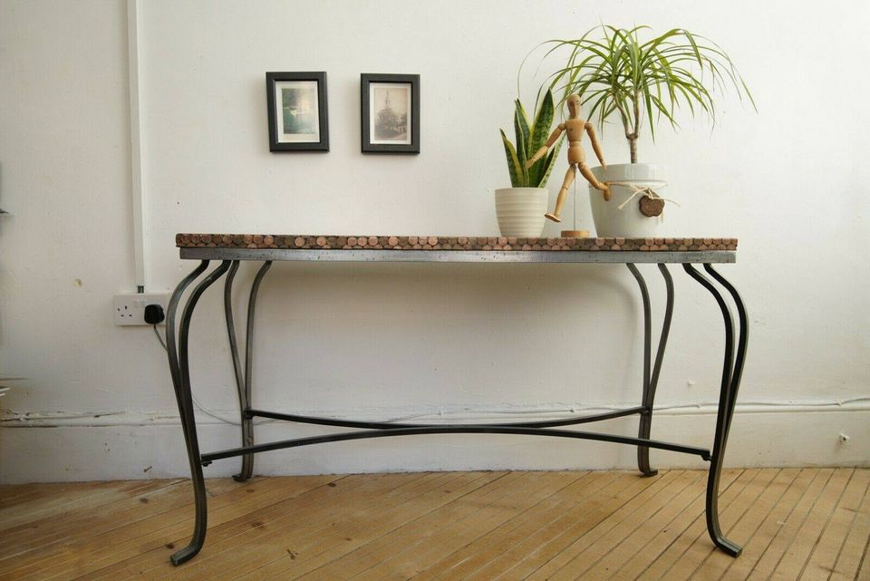 Wrought Iron 1p Resin Top Table